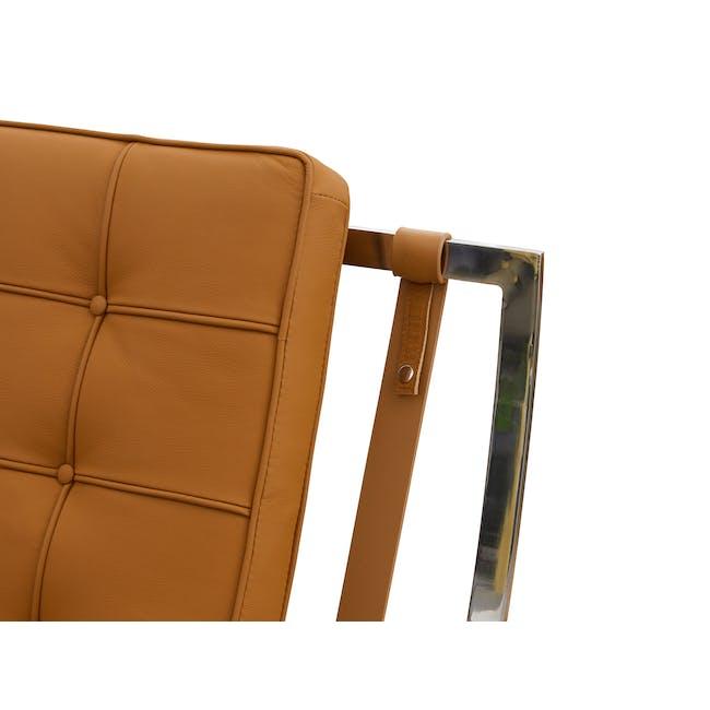 Barcelona 2 Seater Sofa Replica - Tan (Genuine Cowhide) - 5