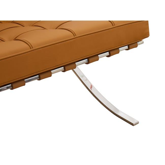 Barcelona 2 Seater Sofa Replica - Tan (Genuine Cowhide) - 7