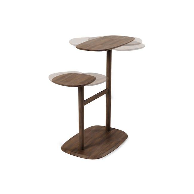 Swivo Side Table - Walnut - 3