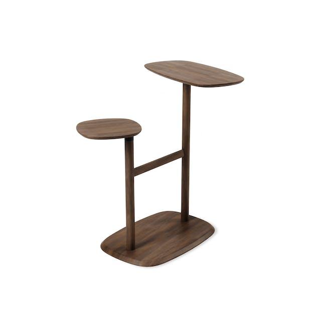 Swivo Side Table - Walnut - 2