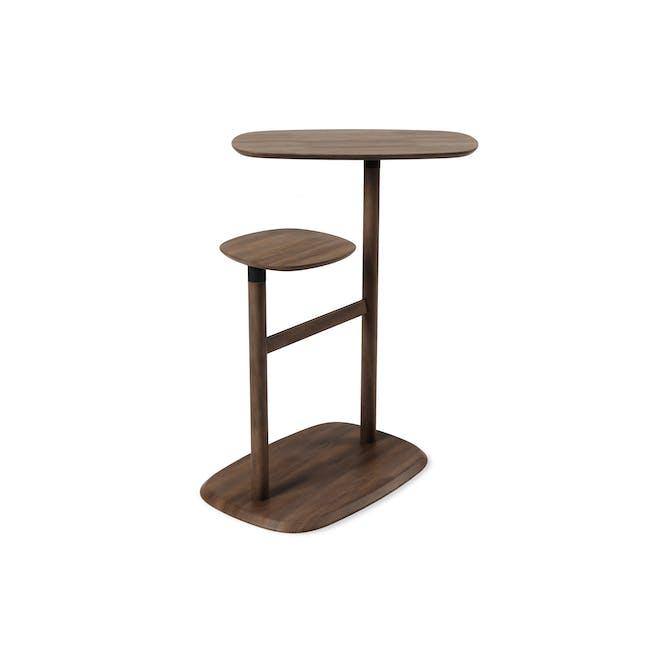 Swivo Side Table - Walnut - 1