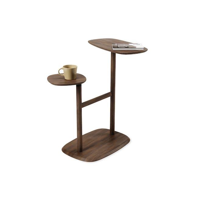 Swivo Side Table - Walnut - 0