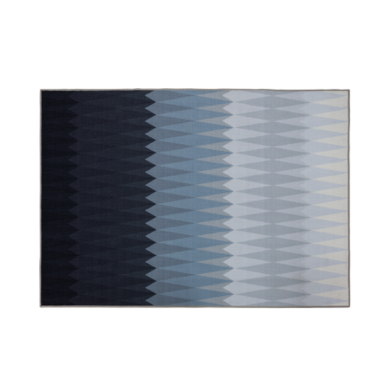 Keliss - Christopher Low Pile Rug 1.7m x 1.2m - Midnight