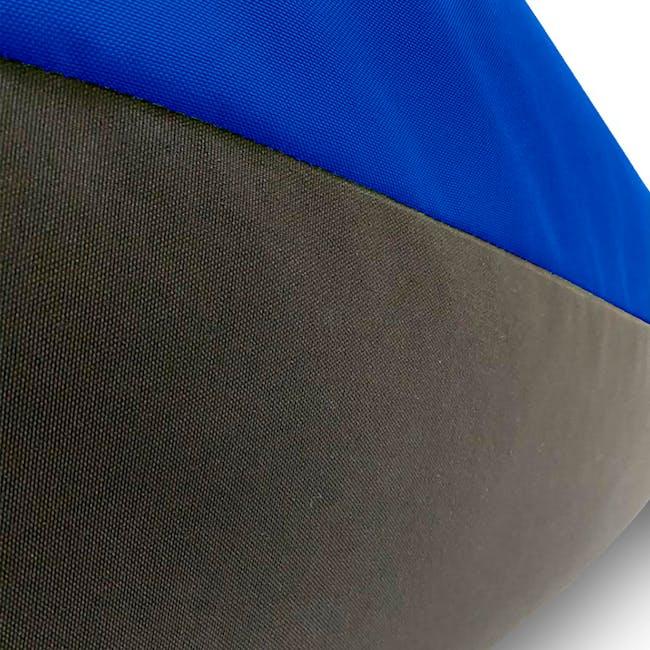 Splash Waterproof Outdoor Triangle Bean Bag - Blue - 3