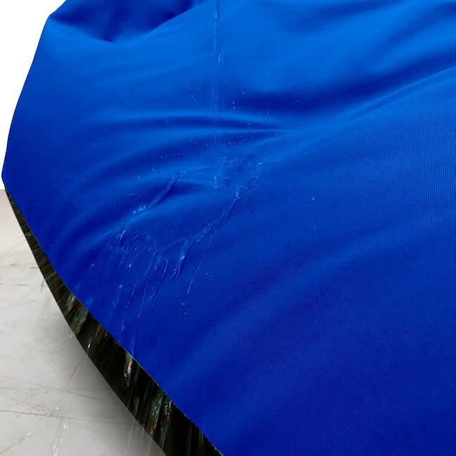 Splash Waterproof Outdoor Triangle Bean Bag - Blue - 5