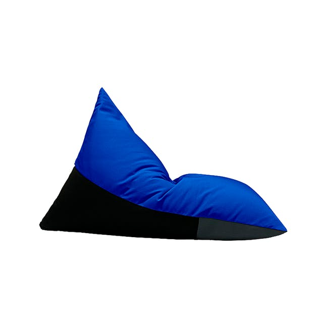 Splash Waterproof Outdoor Triangle Bean Bag - Blue - 7