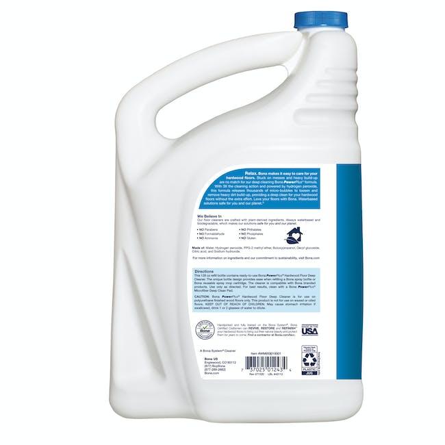 Bona PowerPlus® Wood Floor Deep Cleaner Refill 3.8L - 4