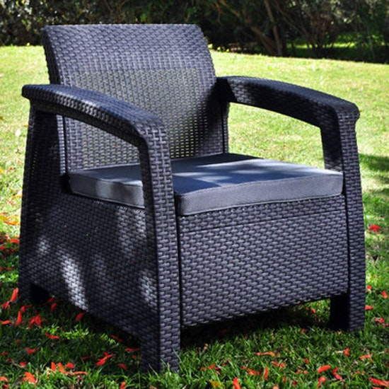 Keter - Corfu Outdoor Set - Grey