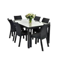 6 Toscana + 1 Melody Table
