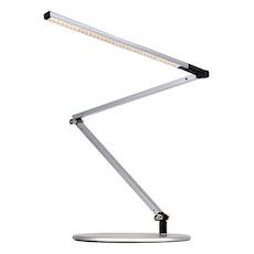 Z-Bar Slim LED Desk Lamp - Silver