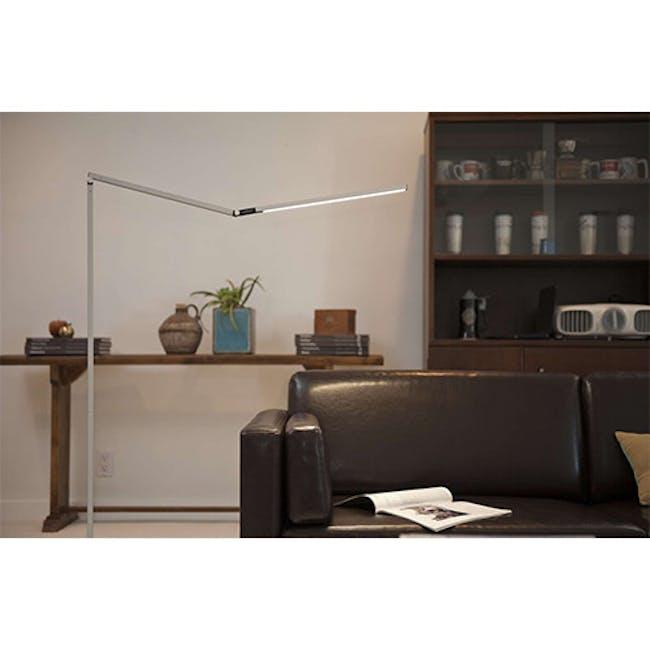 Koncept Z-Bar LED Floor Lamp - Silver - 3