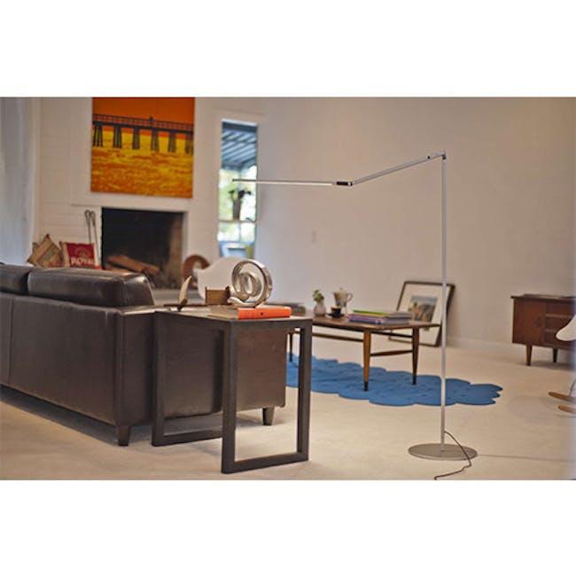 Koncept Z-Bar LED Floor Lamp - Silver - 4