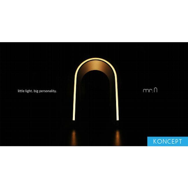 Koncept Mr n LED Lantern -Warm Silver - 4