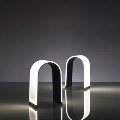Mr. N LED Table Lamp - Silver