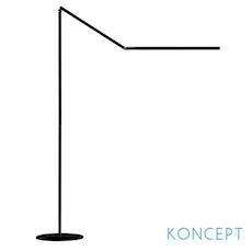 Z-Bar LED Floor Lamp - Black