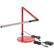Z-Bar LED Desk Lamp - Red