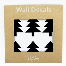 Nordic Trees Wall Decal (Pack of 30) - Black