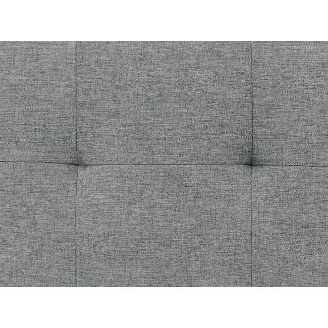 Cali L-Shaped Sofa - Siberian Grey - 8