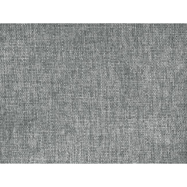 Cali L-Shaped Sofa - Siberian Grey - 7