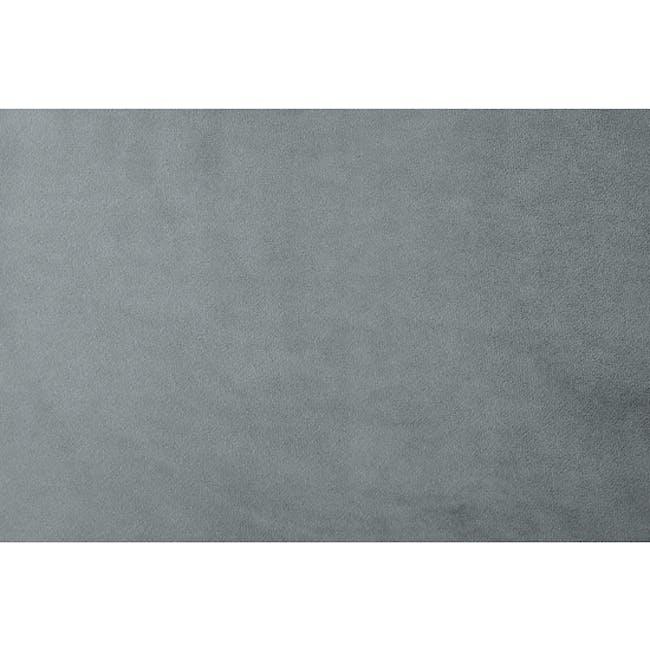 Isabelle Queen Storage Bed - Seal Grey (Velvet) - 4