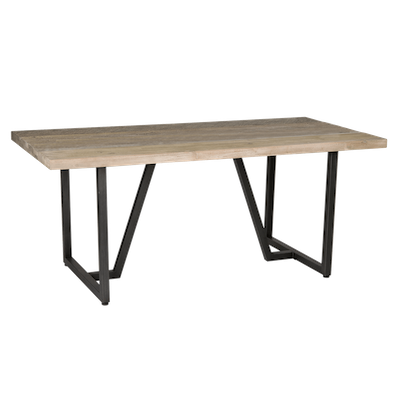 Xavier Dining Table 1.8m with Xavier Bench and 2 Xavier Dining Chairs - Image 2