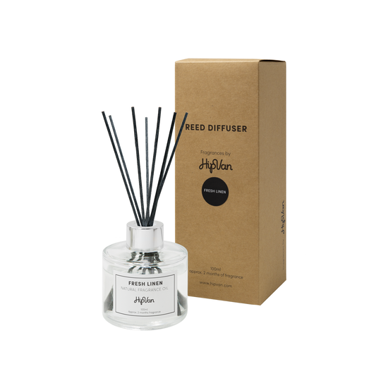 Wellness Fragrances - EVERYDAY Reed Diffuser - Fresh Linen
