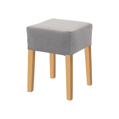 Daphne Stool - Natural, Grey Goose - Image 1