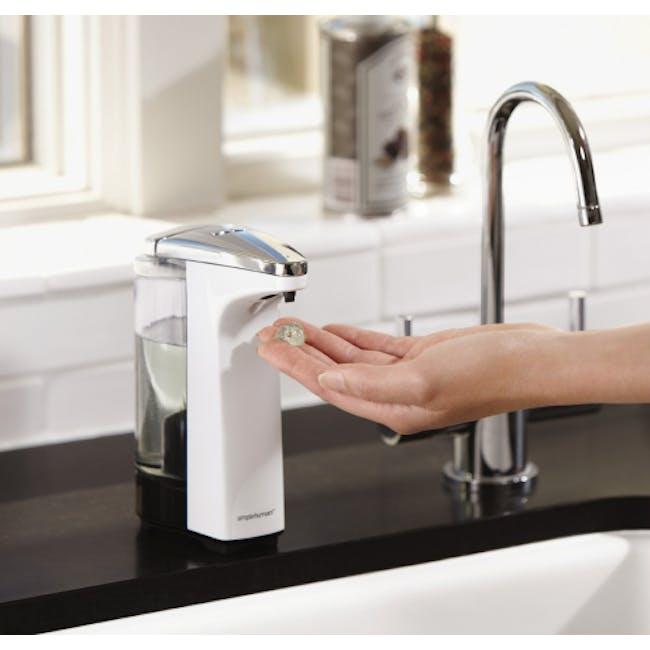 simplehuman Compact Sensor 8oz Soap Pump - White - 1