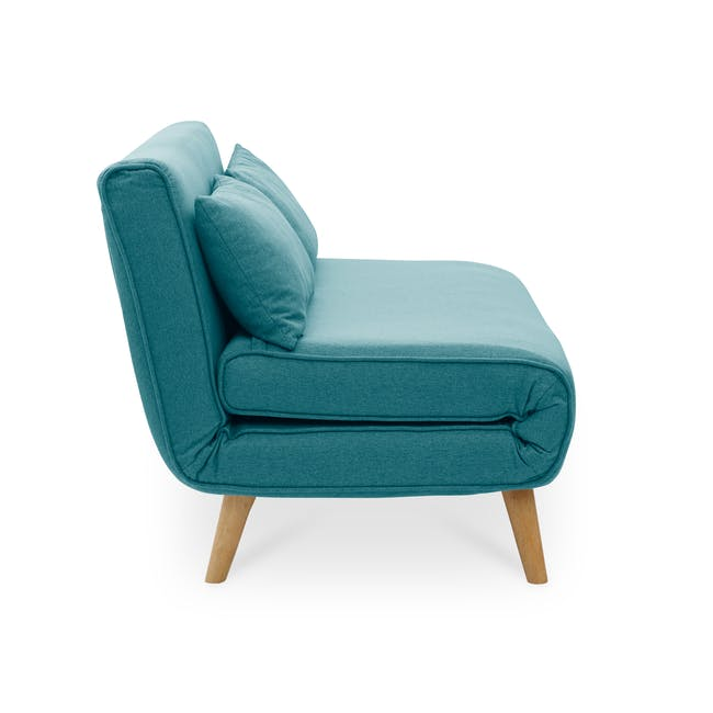 Noel 2 Seater Sofa Bed with Noel Sofa Bed - Teal - 6