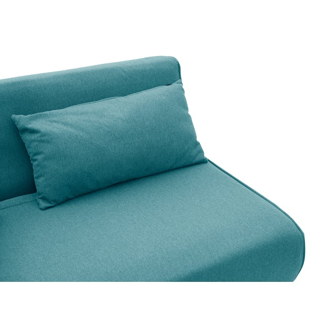 Noel 2 Seater Sofa Bed with Noel Sofa Bed - Teal - 8