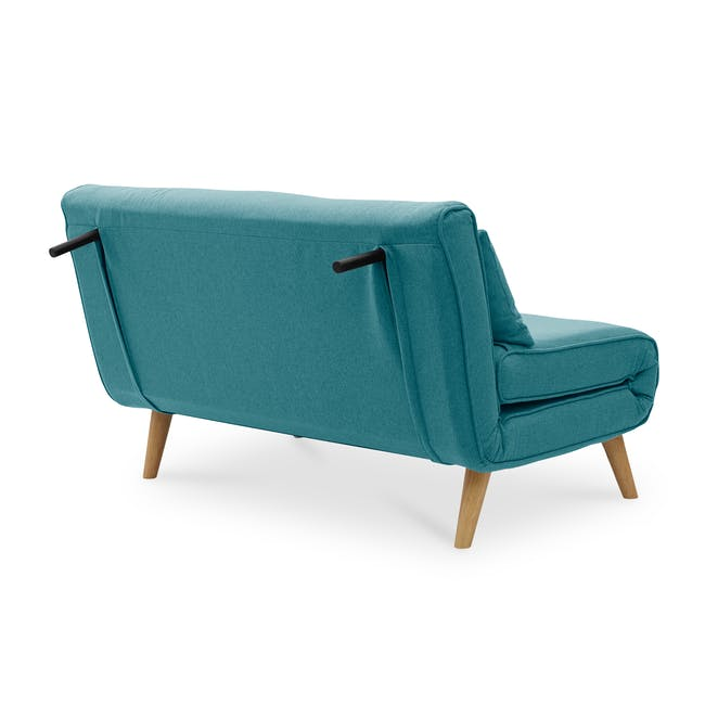 Noel 2 Seater Sofa Bed - Teal - 8