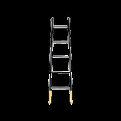 Mycroft Ladder Hanger - Black - Image 1