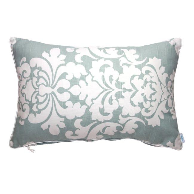Berlin Rectangle Cushion - Snowy Blue - 0