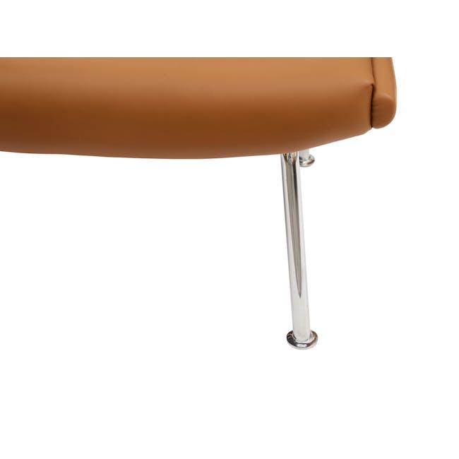 Ox Chair with Ottoman Replica - Tan (Genuine Cowhide) - 5