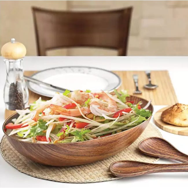 Evelin Salad Bowl & Mixer Set - 1