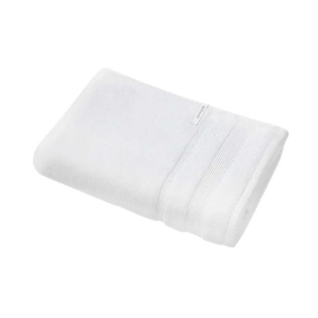 Canningvale Amalfitana Bath Towel - Carrara White - 0