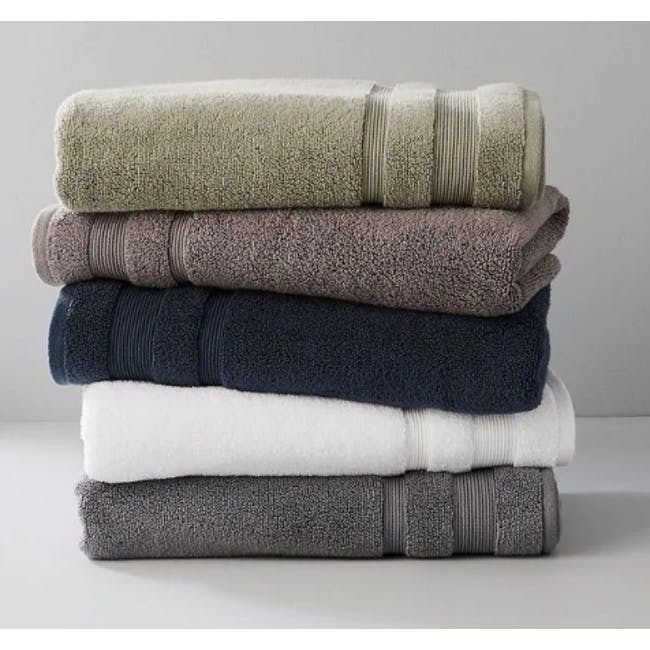 Canningvale Amalfitana Bath Towel - Carrara White - 1