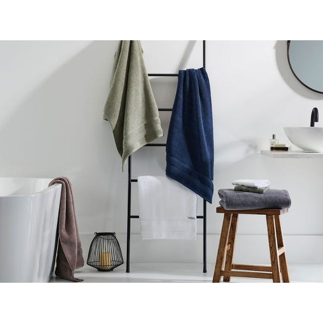 Canningvale Amalfitana Bath Towel - Carrara White - 3