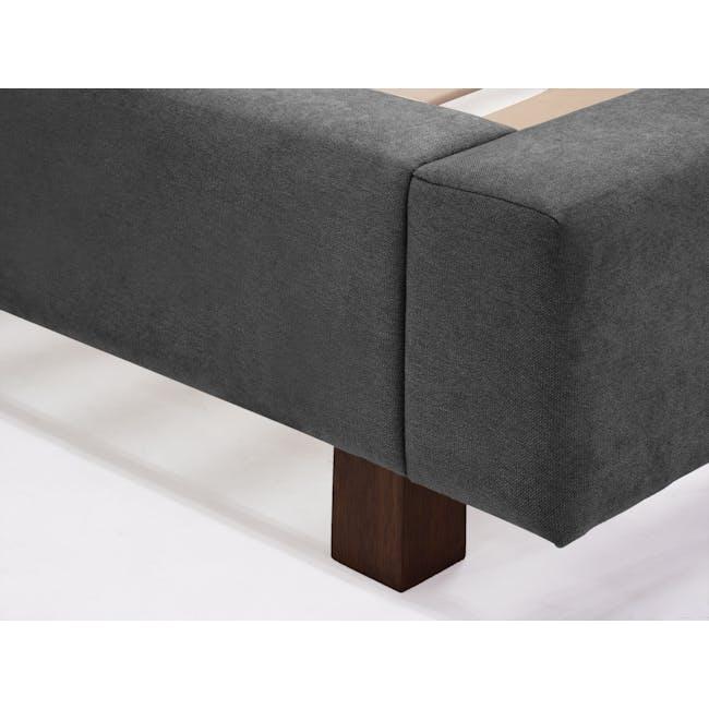 Elliot Queen Bed - Onyx Grey - 10