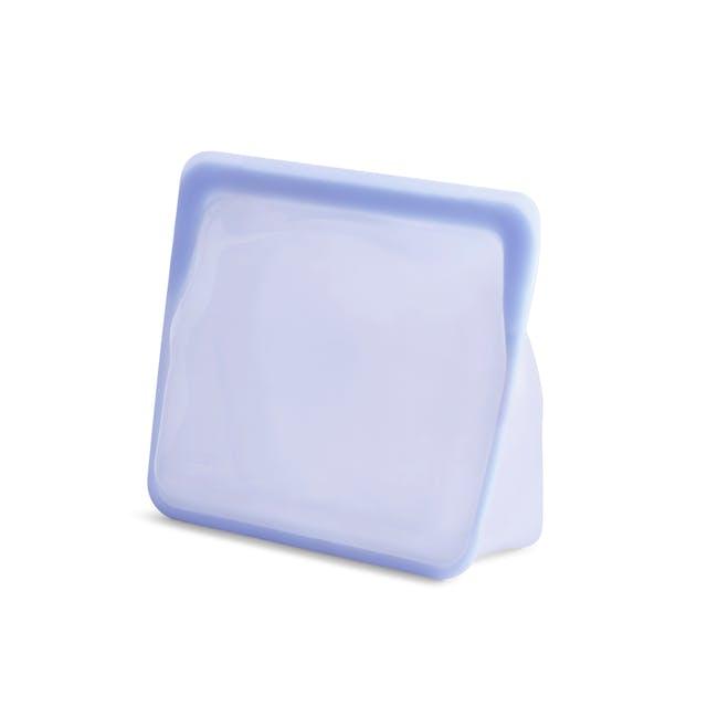 Stasher Reusable Silicone Bag - Stand-Up - Amethyst - 1