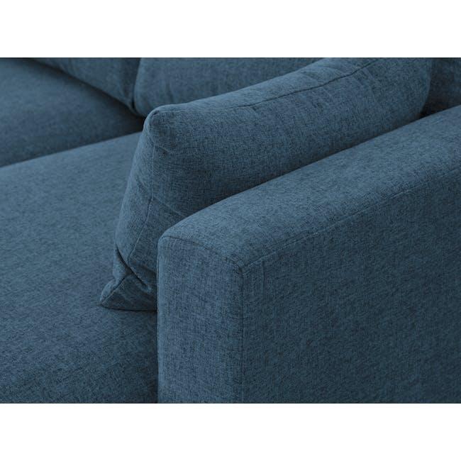Alicia L-Shaped Sofa - Blue - 7