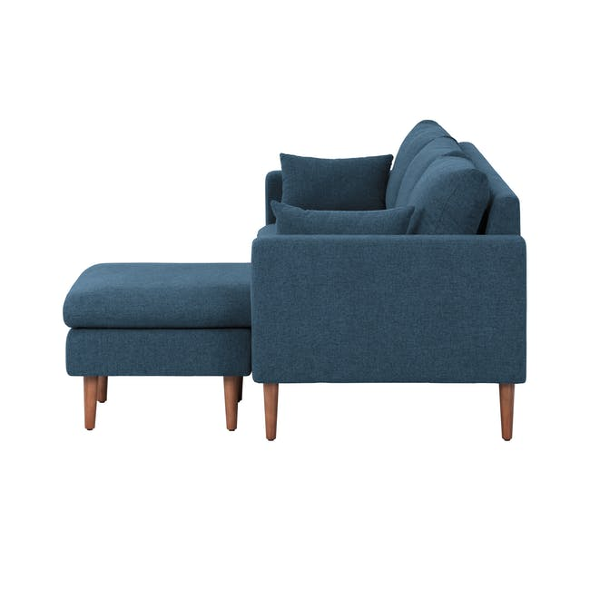 Alicia L-Shaped Sofa - Blue - 5