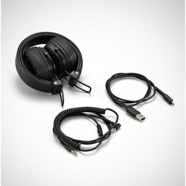 Marshall Major III Bluetooth Headphone - Black - 2