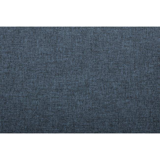 Wyatt 3 Seater Sofa - Oxford Blue (Fabric) - 5