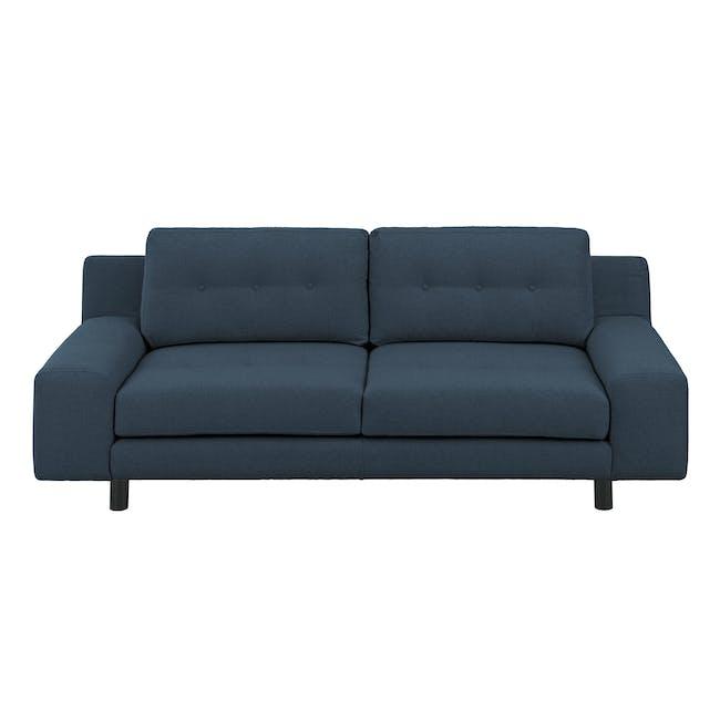 Wyatt 3 Seater Sofa - Oxford Blue (Fabric) - 0