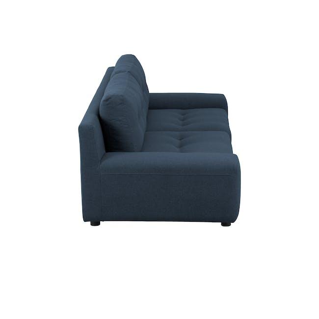 Wyatt 3 Seater Sofa - Oxford Blue (Fabric) - 3