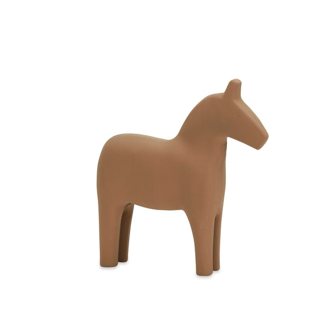 Molly Wooden Pony - Brown - 0