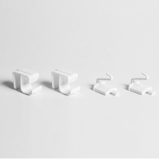 Tessa 2 Tier Storage - White - 4