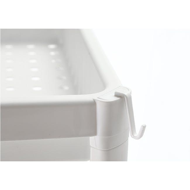 Tessa 2 Tier Storage - White - 3