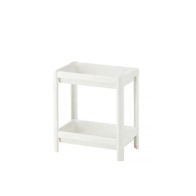 Tessa 2 Tier Storage - White - 0